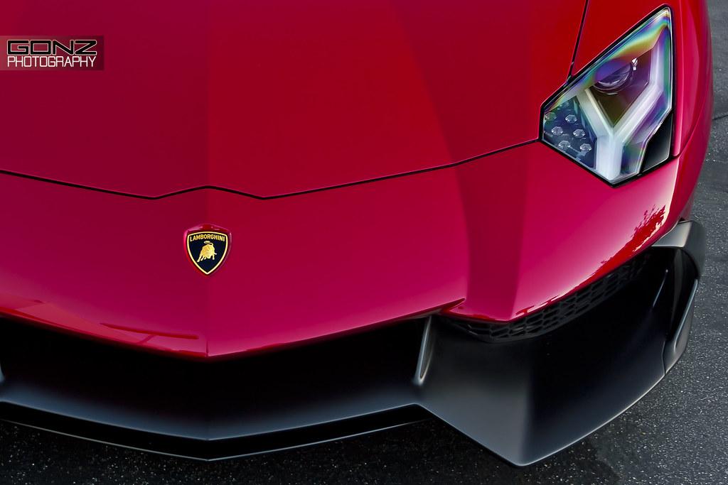 Rosso Efesto 50th Anniversary Lamborghini Aventador Lp 720