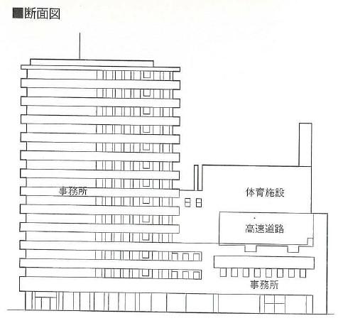阪神高速道路と朝日新聞社ビル (10)