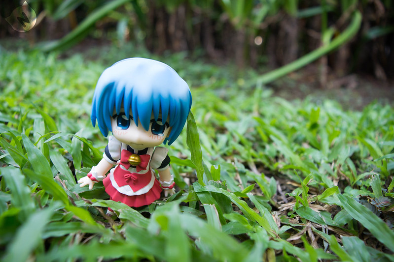 Meanwhile, Hayate has also been looking for her (almost crying, poort Hayate)