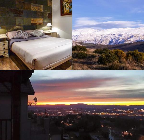 Hostal Green Peaks, uno de los mejores sitios donde dormir en Granada a las afueras