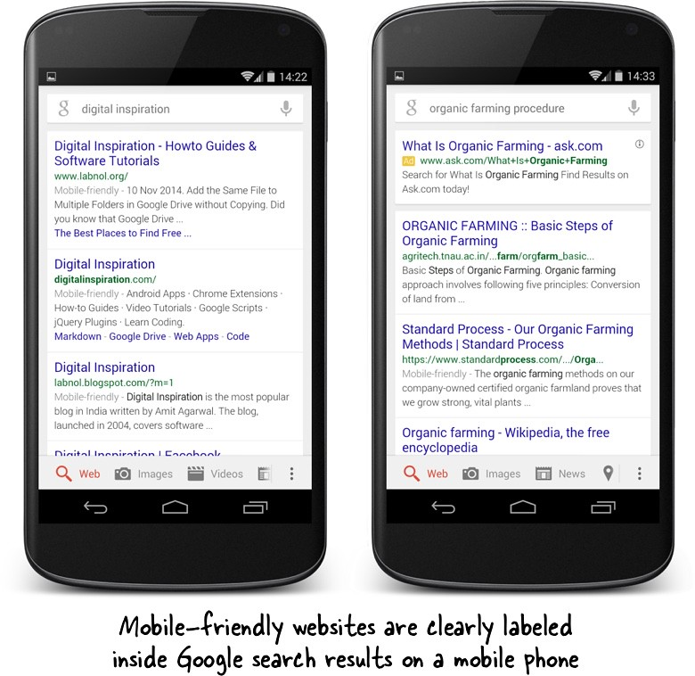 what are mobile-friendly sites