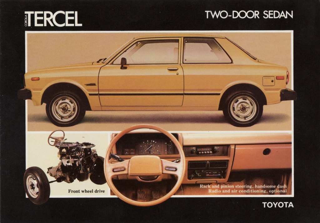 1980 Toyota Corolla Tercel Two Door Sedan Alden Jewell