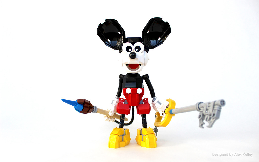 LEGO Mickey Mouse | Mickey Mouse is designed and built compl… | Flickr