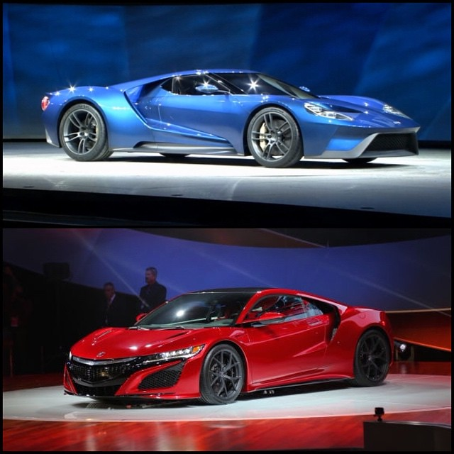 Things Are Getting Racy In Detroit With The New Ford GT An