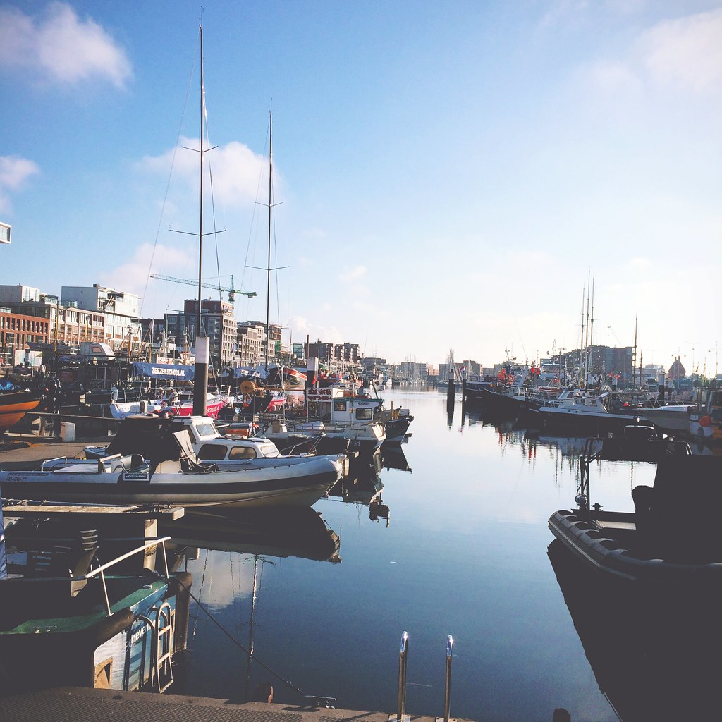 Harbour of Scheveningen, The Hague (The Netherlands) | via It's Travel O'Clock