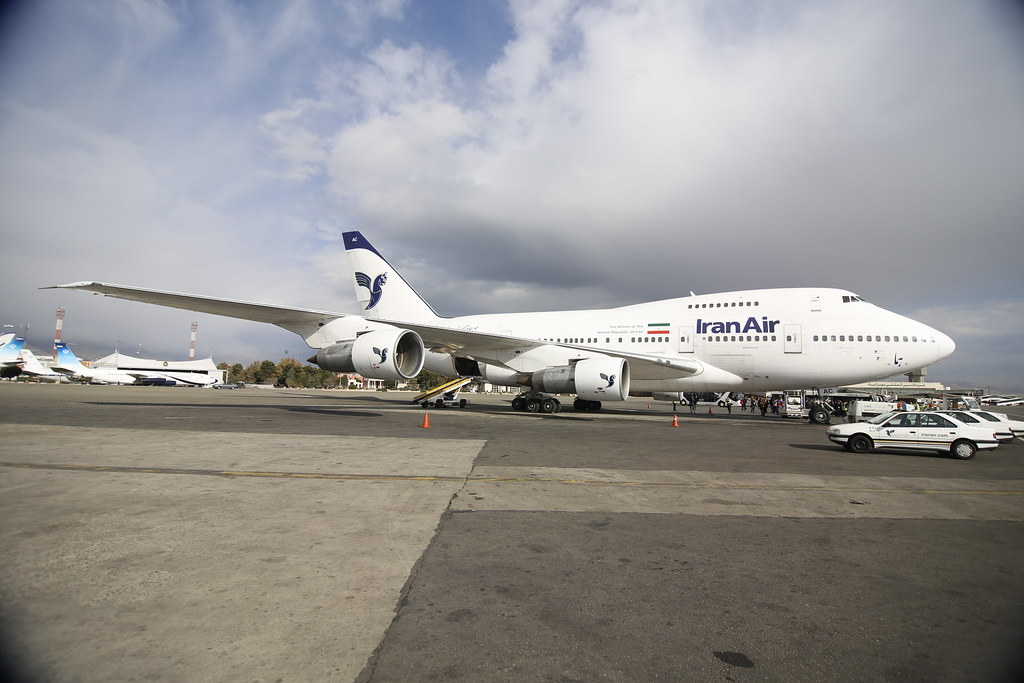 Iran Air 747-SP