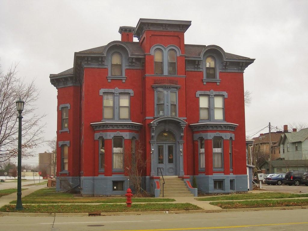 Bay City Mi James Shearer Residence 701 Center Ave