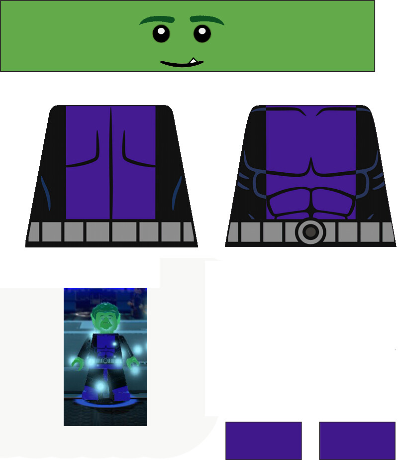 lego beast bot decal | Lego Decal Page | Flickr