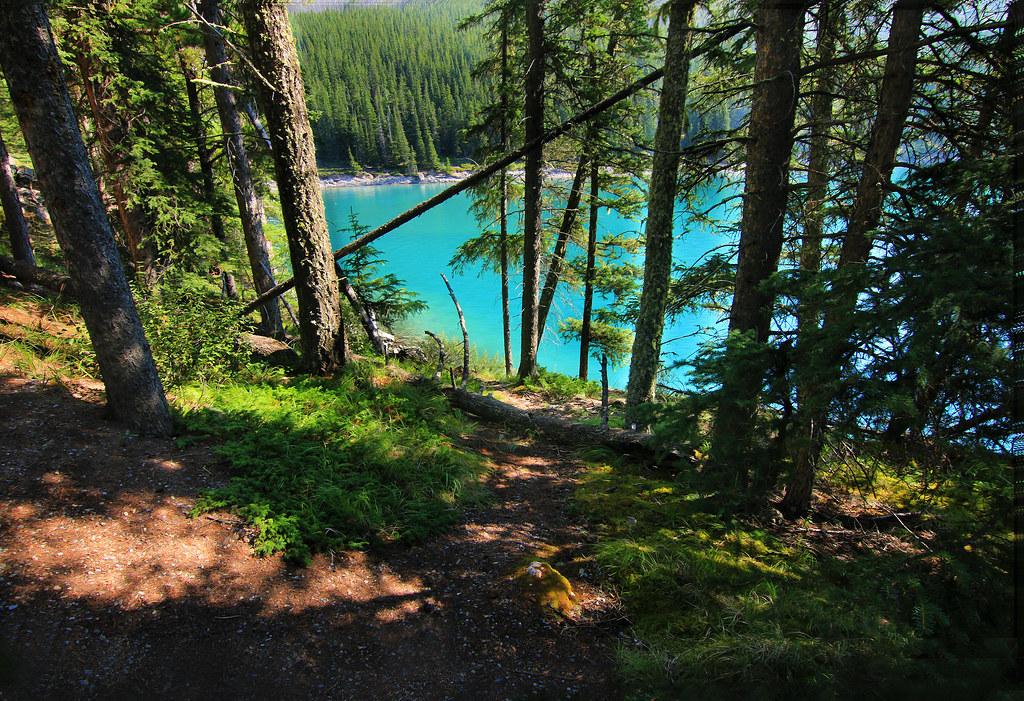 hike lake minnewanka banff canada simon x flickr. Black Bedroom Furniture Sets. Home Design Ideas