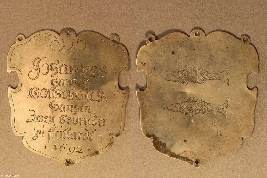 Koenigsschild Flittard von hansen johannes hansen gottschalck aus dem Jahr 1692