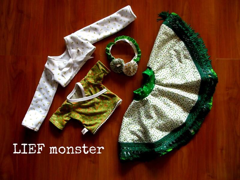 Gypsy costume for 18 inch slim doll