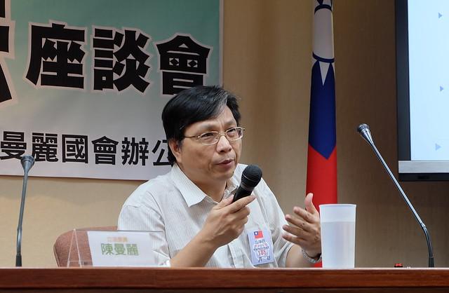 中華經濟研究院能源與環境研究中心研究員王京明 攝影:陳文姿
