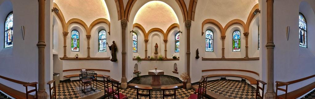 La chapelle de l'abbaye de Clairefontaine en Belgique 27340496561_2d1466e552_b