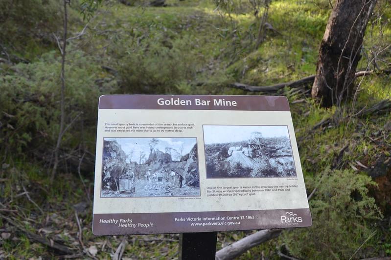 Golden Bar mine info