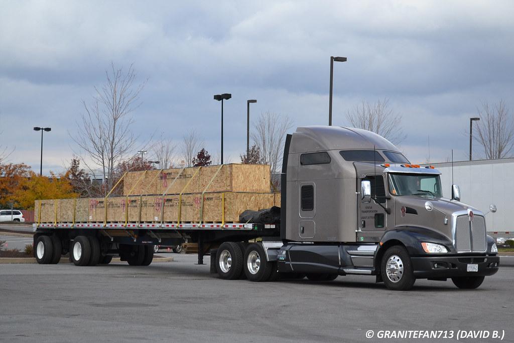 Status Transportation Kenworth T660 | Trucks, Buses ...