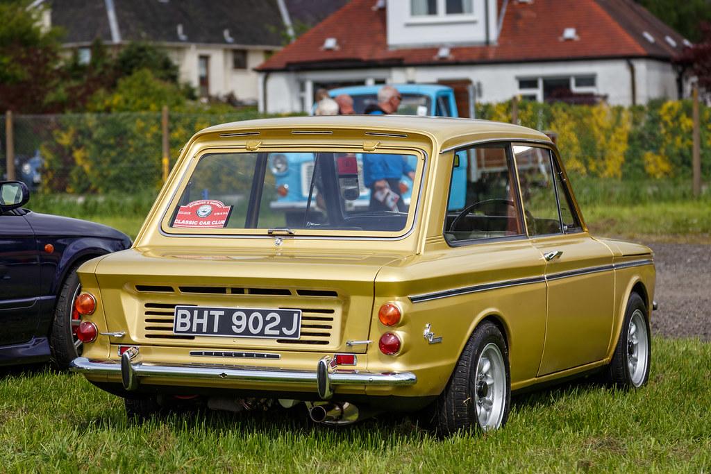 Hillman Imp | Gold 1971 Hillman Imp - BHT 902J - seen at ...