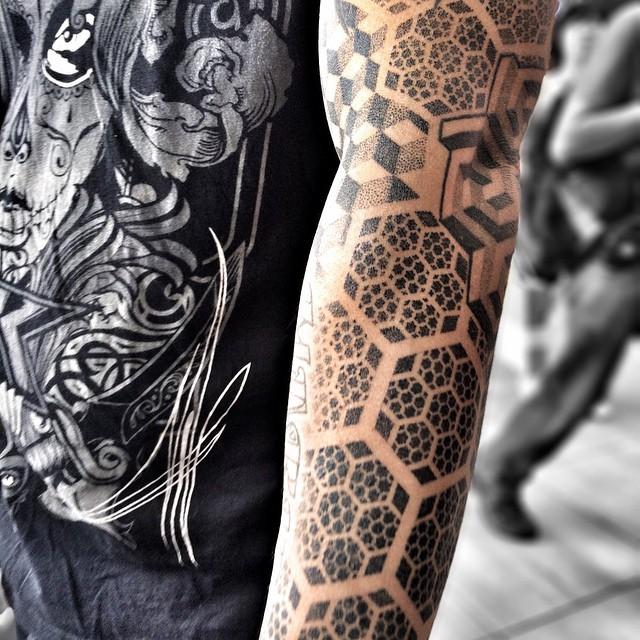 Intricate Tattoo Design Love The Geometric Patterns L