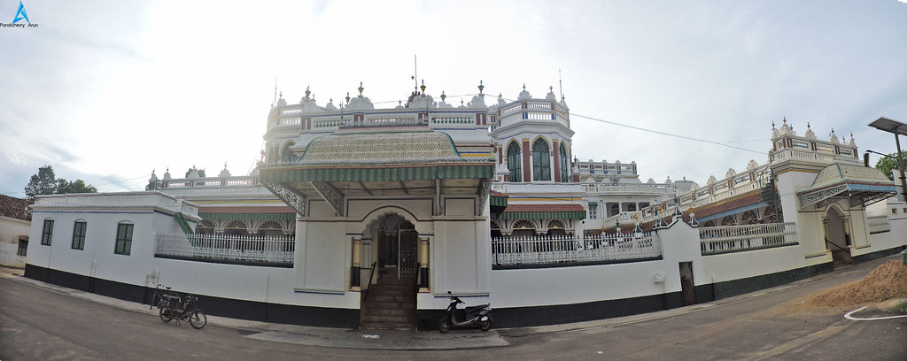 Karaikudi Chettinad House Panoramics View | Pondicherry Arun | Flickr