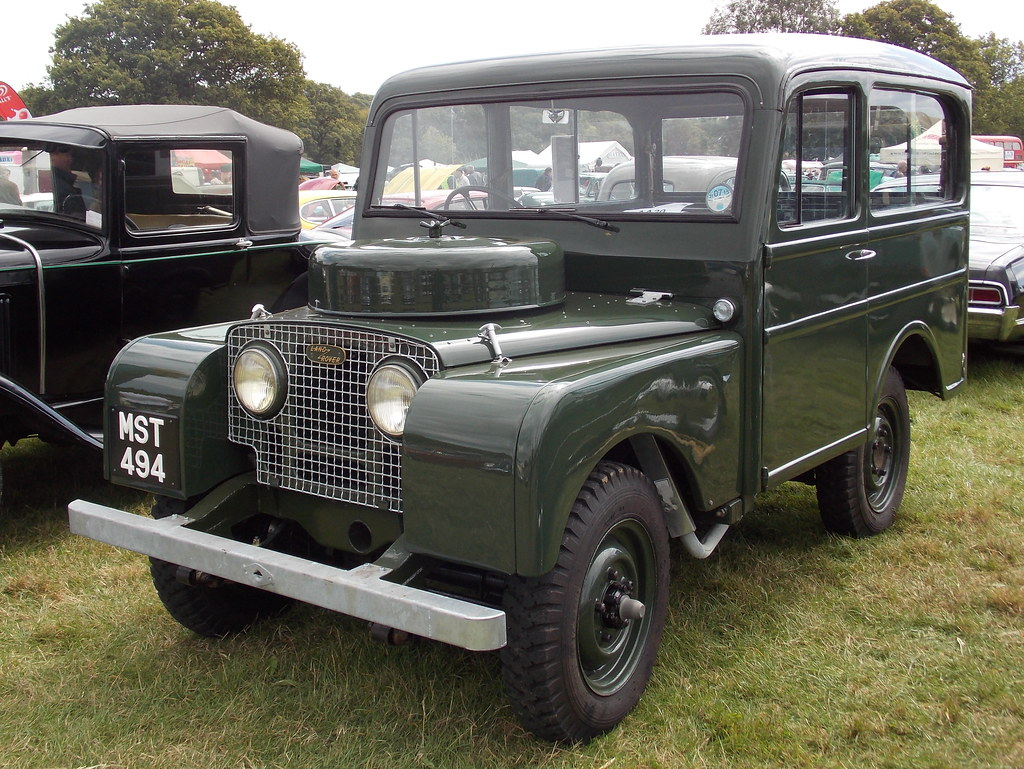 1950 Land Rover Series I Tickford station wagon | The ...