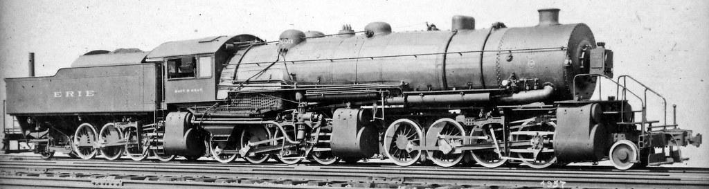Vintage Wheel Works >> Erie Railroad # 2603 steam locomotive (Baldwin 2-8-8-8-2) | Flickr