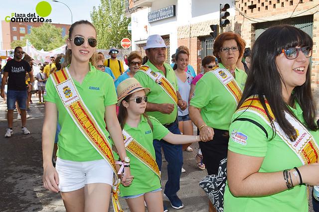 Desfile de Peñas de las fiestas de Tarancón 2016