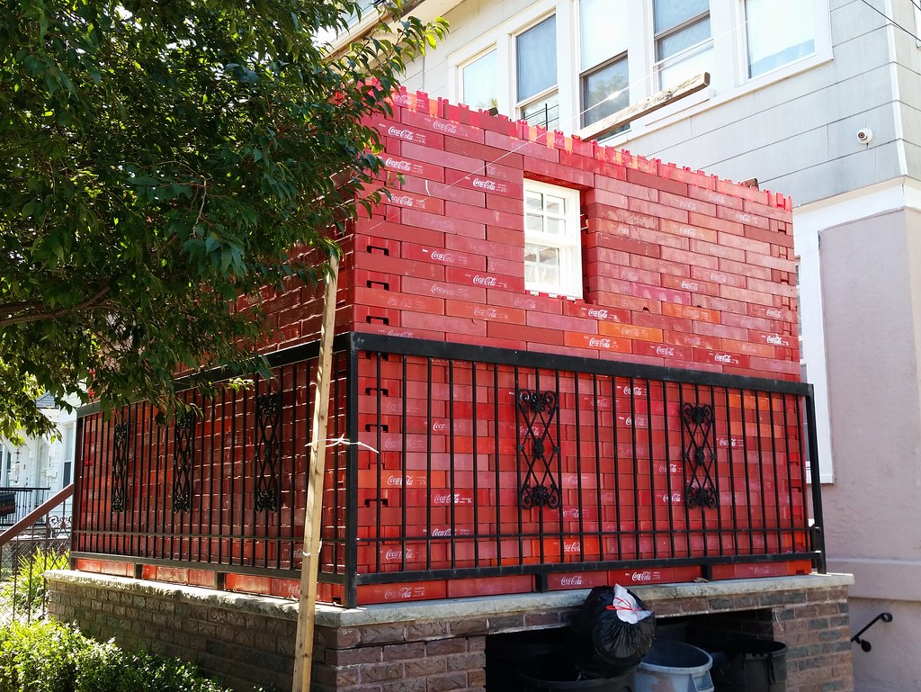 Soda crate sukkah perhaps this family in midwood for Plural of balcony