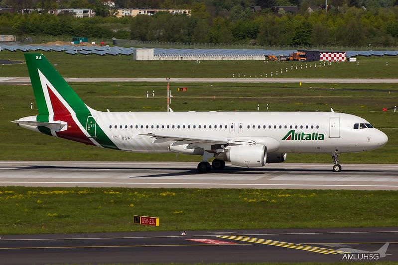 Alitalia - A320 - EI-DSA (1)
