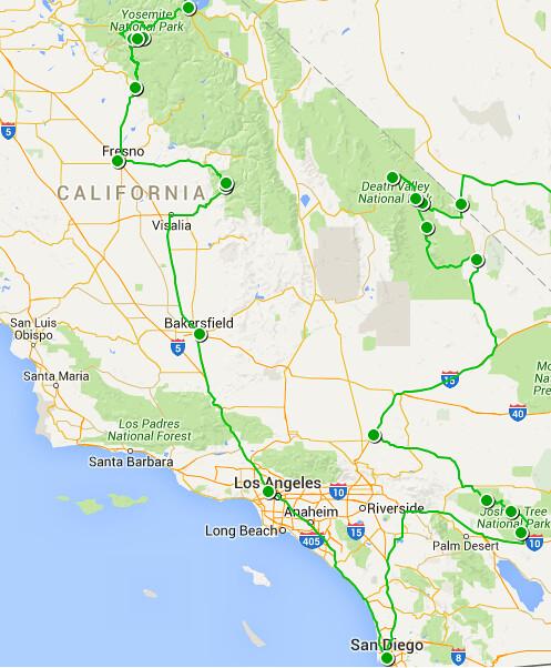 Etapa 9a - California sur