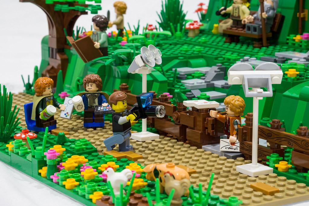 Amon Hen Lego Lord Of The Rings Minikit