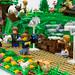 LEGO Bag End MOC Behind the Scenes