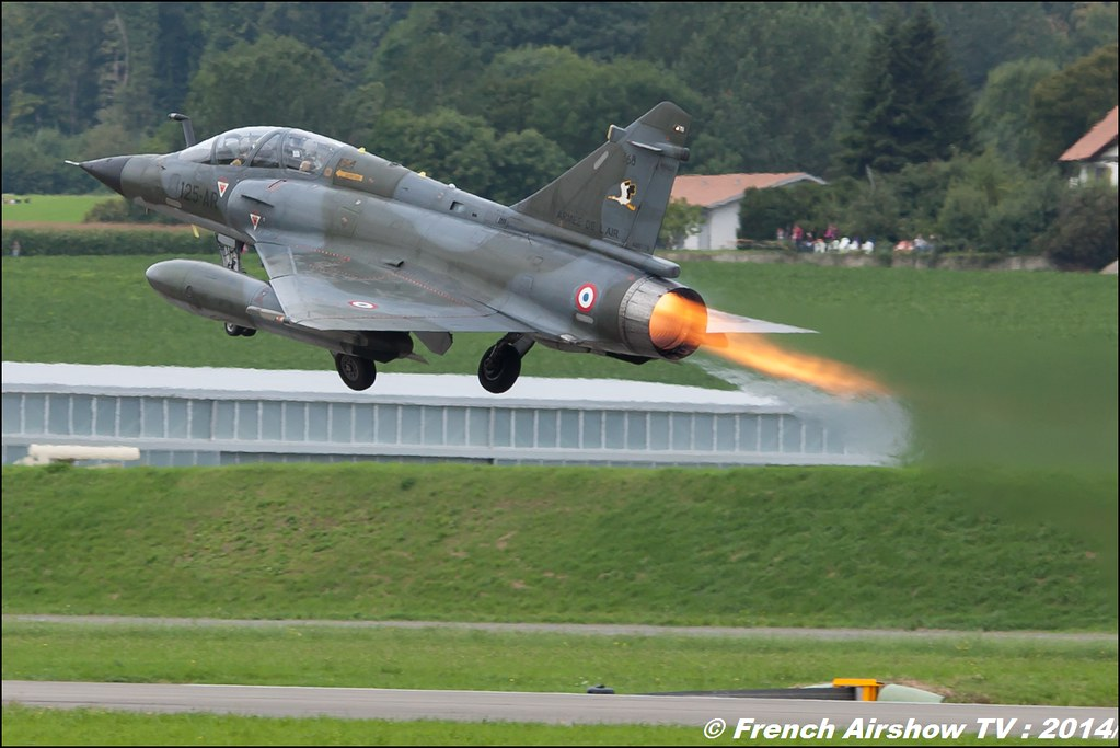 Ramex Delta Tactical Display , Mirage 2000N , Démonstration tactique de la patrouille Ramex Delta , AIR14 Payerne , suisse , weekend 1 , AIR14 airshow , meeting aerien 2014