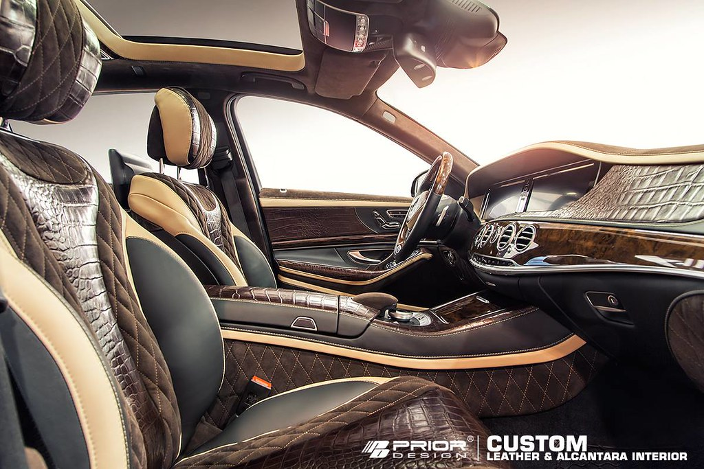 Mercedes S Class W222 Custom Interior Prior Design Flickr