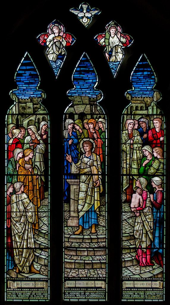 Stained Glass Window St Lawrence S Church Bidborough