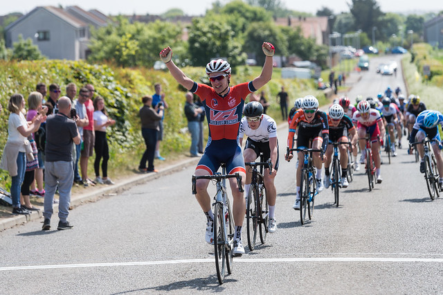 British Cycling Junior Road Series, round 5, Day 2, June 5th 2016