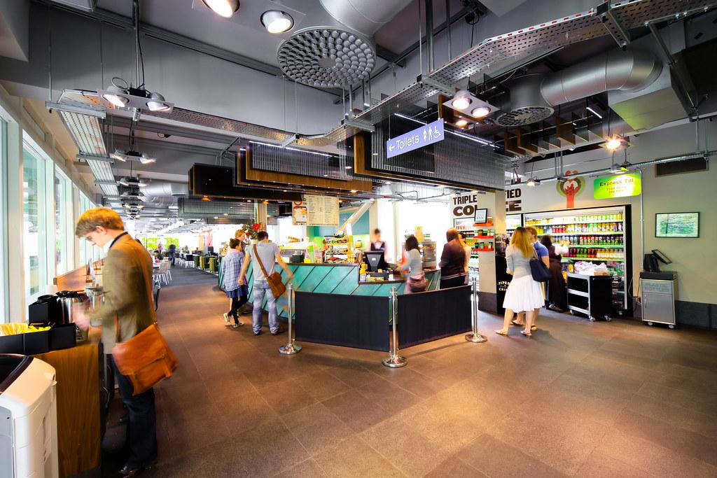 Inside 4W Café