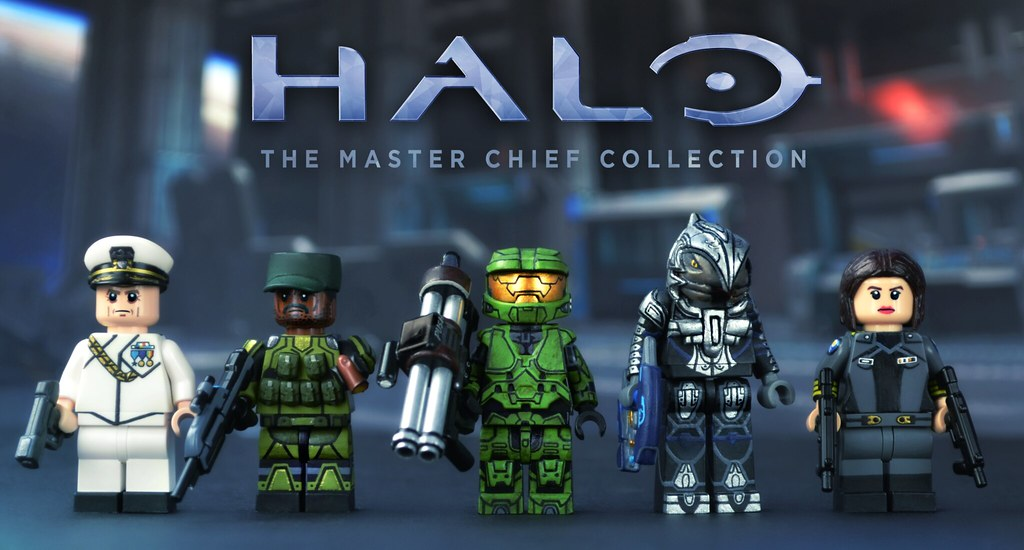 Lego Halo The Master Chief Collection Note You Can