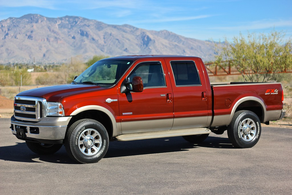 2005 ford f250 king ranch 4x4 diesel truck for sale. Black Bedroom Furniture Sets. Home Design Ideas