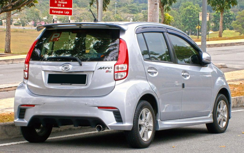 2013 Perodua Myvi 1.3 SE (S-Series) | Photographed in ...