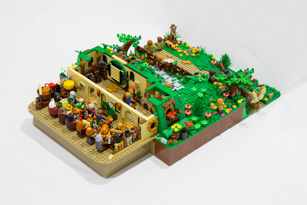 LEGO Bag End Hobbit MOC