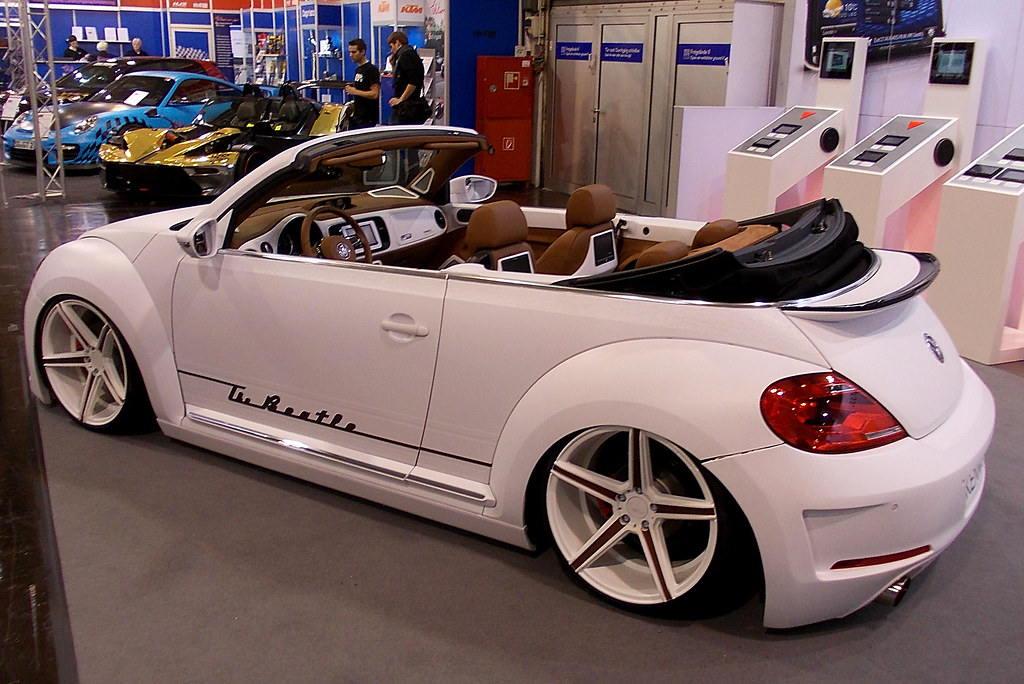 Vw Beetle Convertible Tuning Essen Motor Show 2014