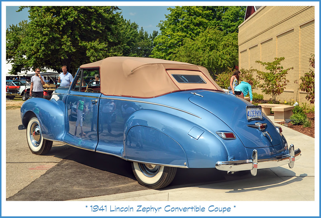 1941 Lincoln Zephyr Convertivble Coupe