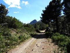 Punta Mozza depuis la piste de Solaro