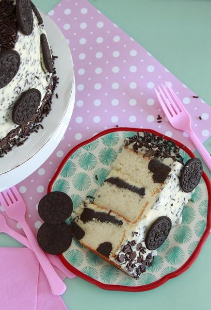 Polka Dot Oreo Cake