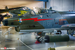 MM6959 8-66 - 2066 - Italian Air Force - FIAT G-91Y - Italian Air Force Museum Vigna di Valle, Italy - 160614 - Steven Gray - IMG_0658_HDR