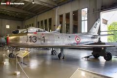 MM19792 13-1 - 692 - Italian Air Force - Canadair CL-13 Sabre 4 - Italian Air Force Museum Vigna di Valle, Italy - 160614 - Steven Gray - IMG_0775_HDR