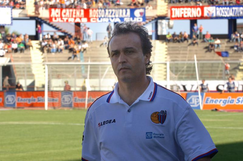 Pasquale Marino, tecnico del Catania dal 2005 al 2007