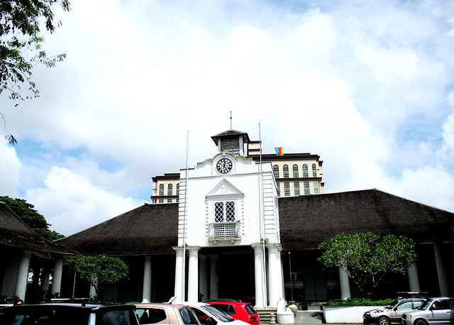 The old courthouse, Kuching
