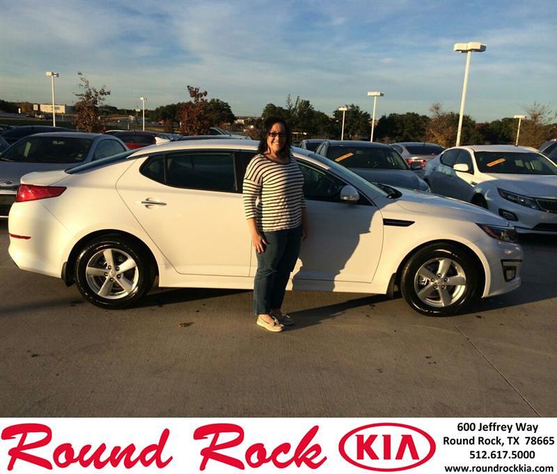 Kia Round Rock >> Congratulations to Michelle Espinoza on your #Kia #Optima …   Flickr