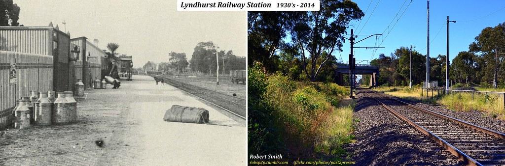 Lyndhurst Railway Station 1930 S 2014 The Lyndhurst