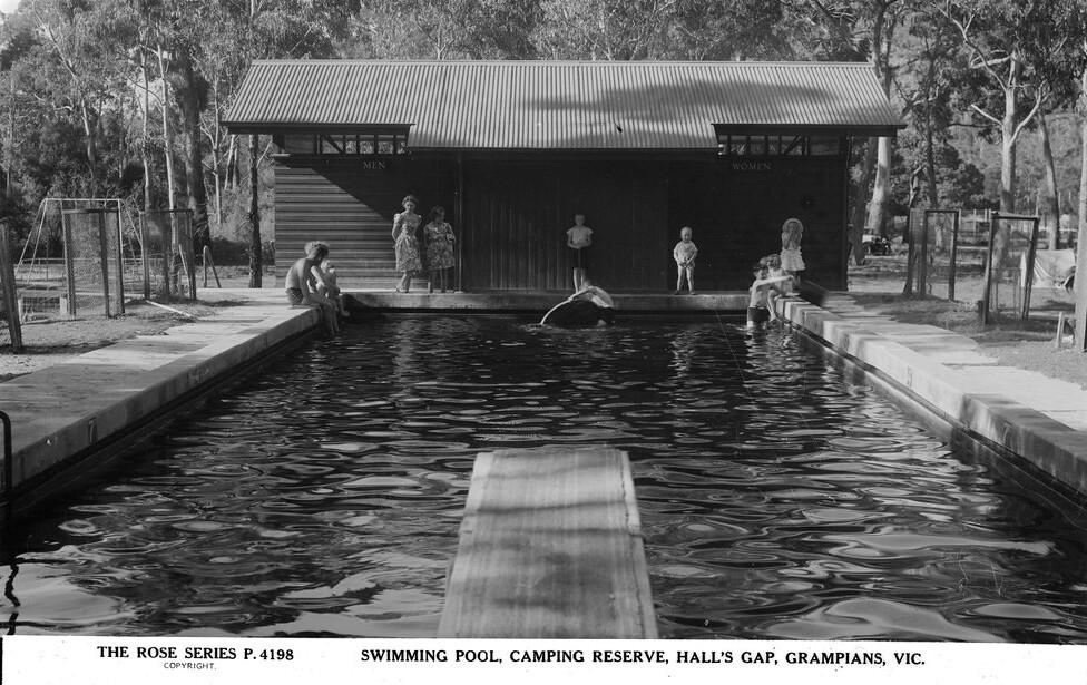 Swimming Pool Camping Reserve Hall 39 S Gap Grampians Vic Flickr